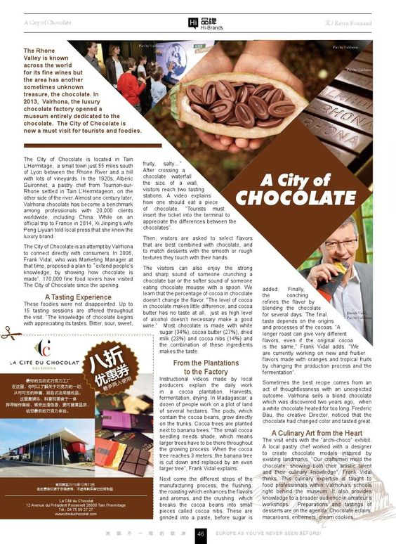 VALRHONA CITY OF CHOCOLATE