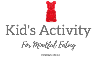 5-Minute Mindful Eating Activity with your Kiddo(s)