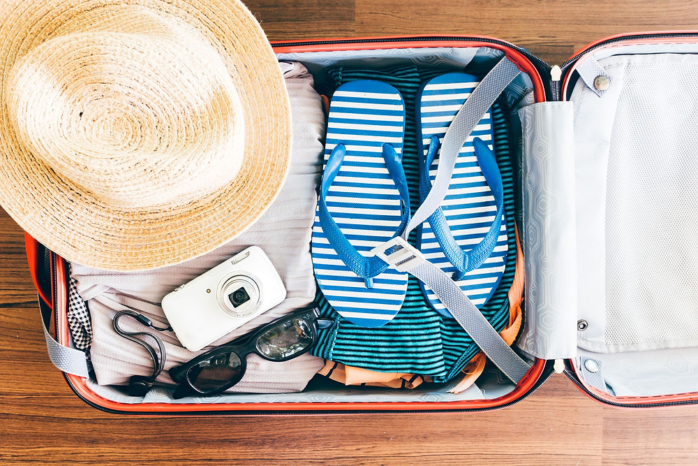 packing when travelling with baby or toddler