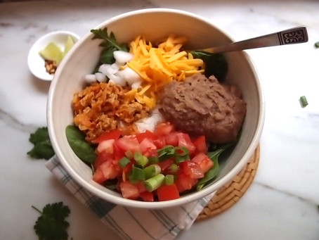 Turkey Burrito Bowls