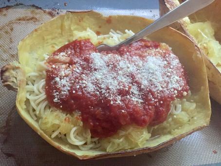 Spaghetti Squash Marinara Bowls