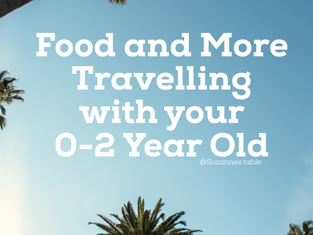 Travelling with Your 0-2 Year Old