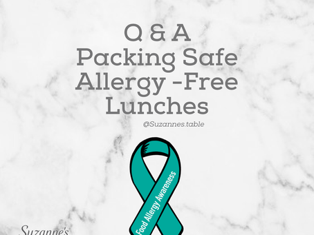 Conquering Packing Allergy Safe Lunches For Non-Allergy Kids