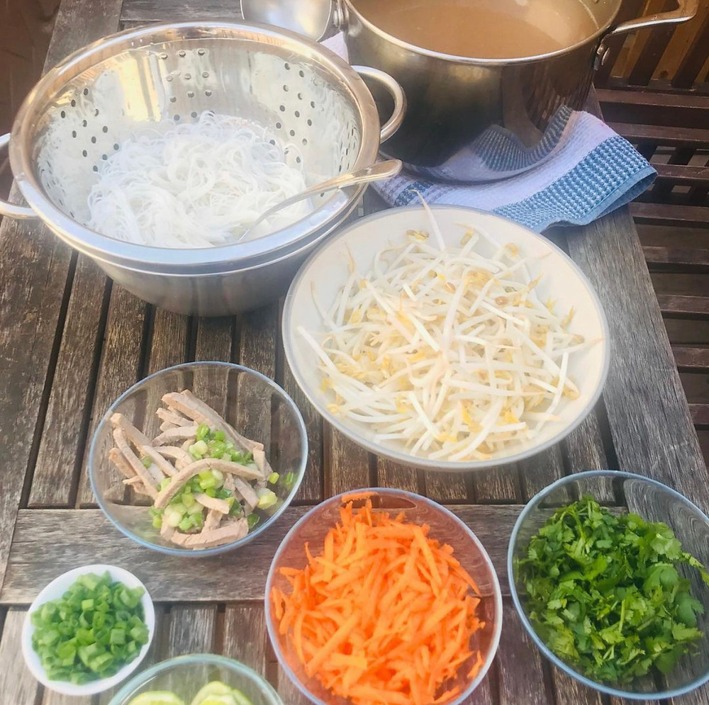 pho noodle soup recipe for the family