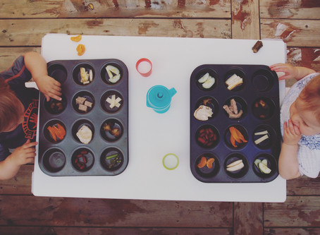 Toddler Sensory Food Play Lunch Date