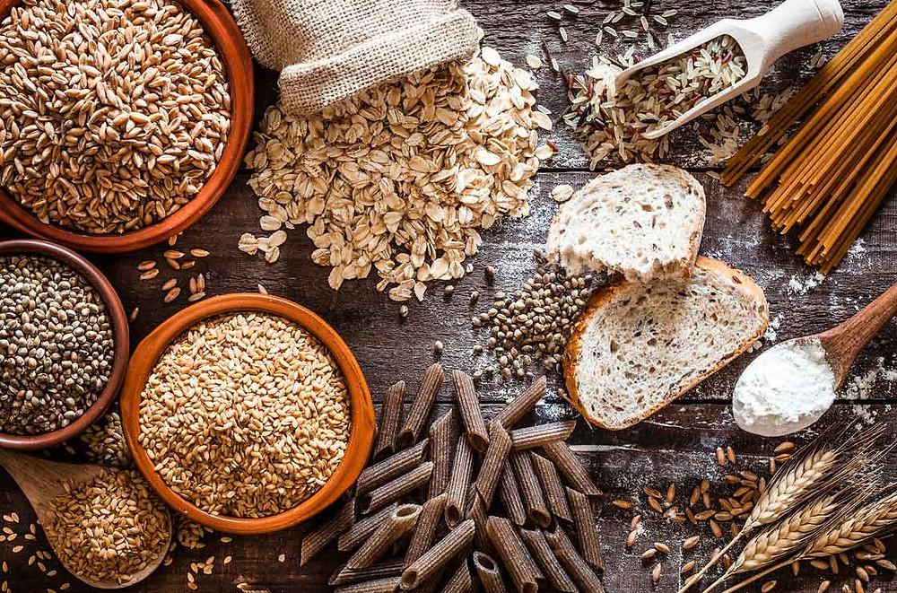 high fibre grain products