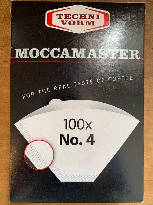 Moccamaster No 4 Filters 100 ct