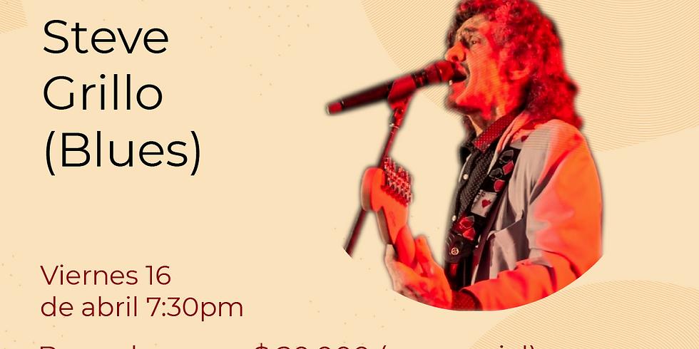 Presencial:  Labanda Steve Grillo en vivo en el Festival de Blues & Jazz Libélula Dorada 2021