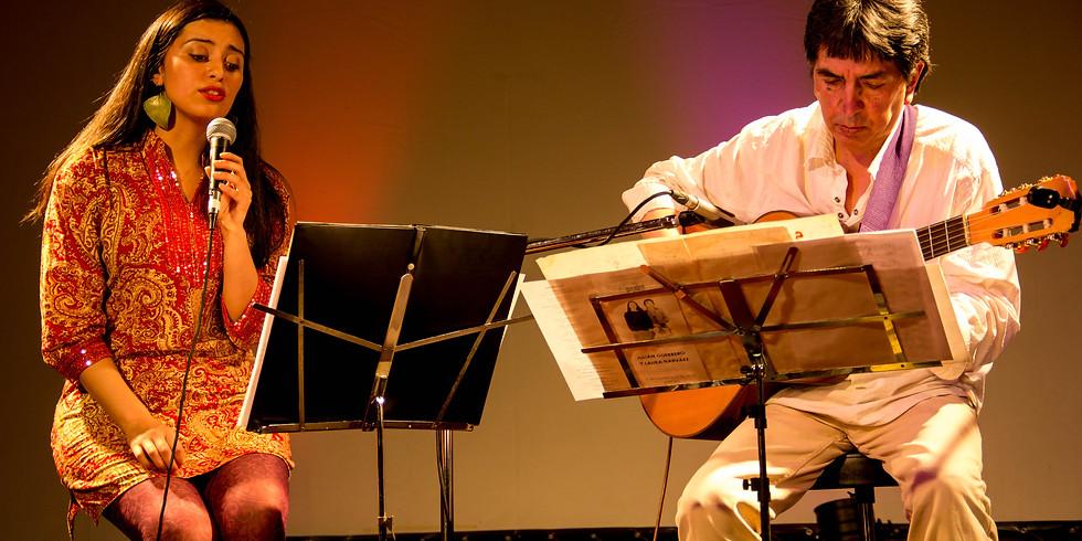 Julián Guerrero y Laura Narváez