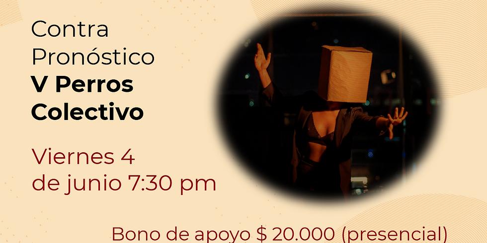 Presencial:  V Perros Colectivo en el Festival de Danza contemporánea Libélula Dorada 2021 