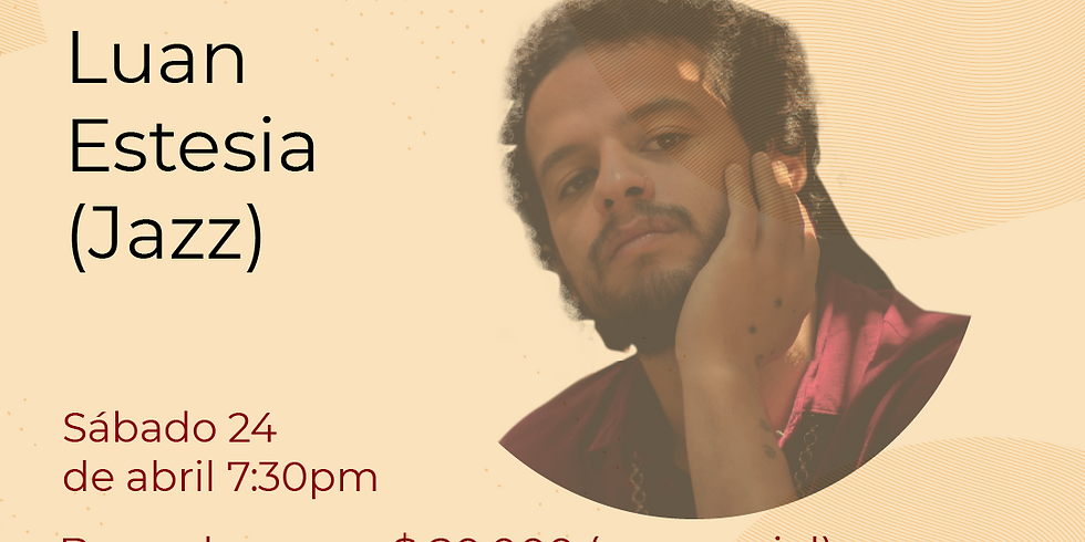 Presencial:  Luan Estesia  en vivo en el Festival de Blues & Jazz Libélula Dorada 2021