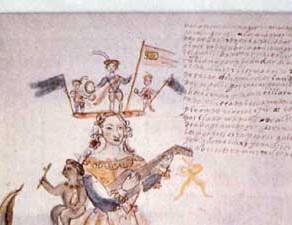 Muñecos y personajes de la fiesta de Corpus Cristi