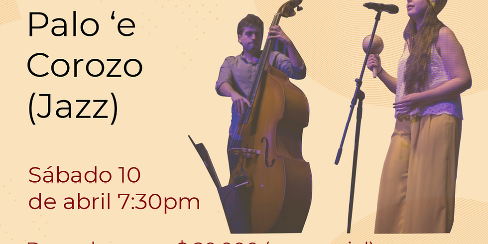Presencial: Palo 'e Corozo en vivo en el Festival de Blues & Jazz Libélula Dorada 2021 (1)