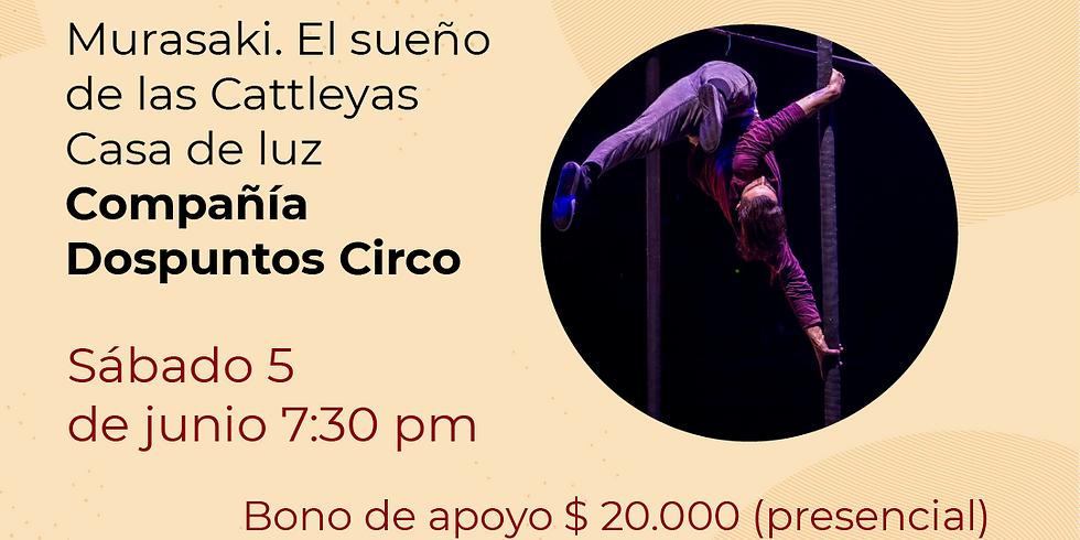 Presencial:  Dos puntos  Circo compañía en el Festival de Danza contemporánea Libélula Dorada 2021|   (1)