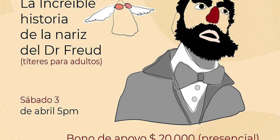 Presencial: La increíble historia de la nariz del Dr. Freud