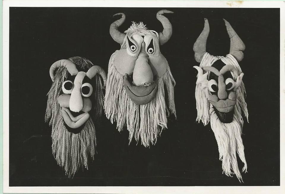 Imagen de  archivo de la obra Los espíritus lúdicos del grupo de títeres La libélula Dorada