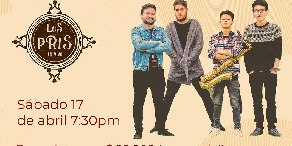 Presencial:  Los Pris en vivo en el Festival de Blues & Jazz Libélula Dorada 2021    (1)
