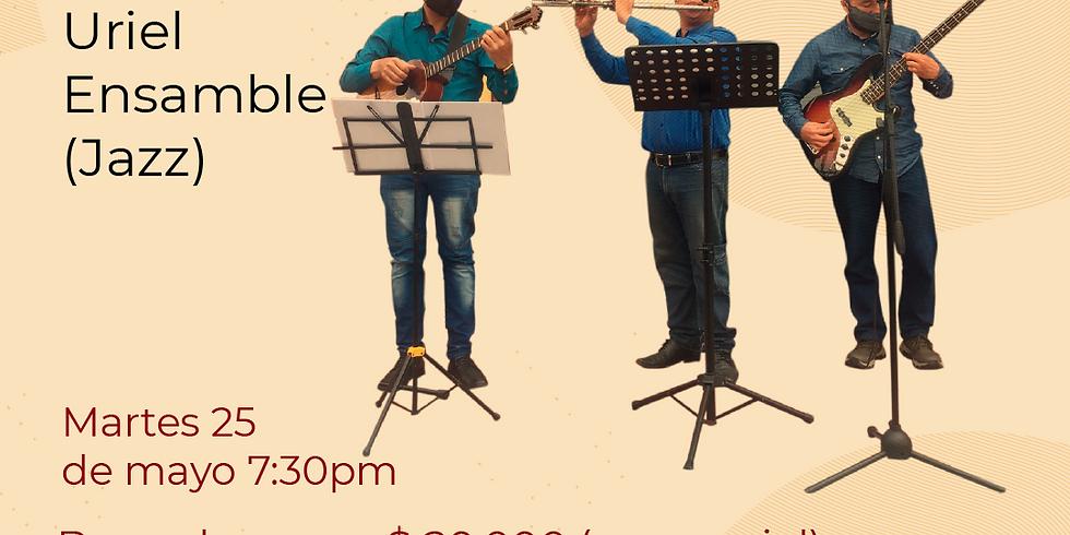 Presencial:  Uriel Ensamble  en vivo en el Festival de Blues & Jazz Libélula Dorada 2021