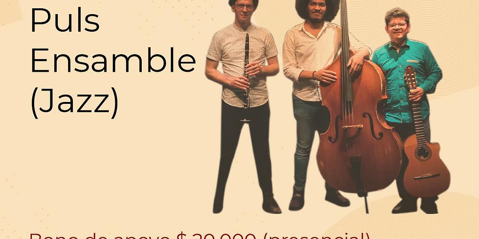 Presencial: Puls Ensamble en vivo en el Festival de Blues & Jazz Libélula Dorada 2021