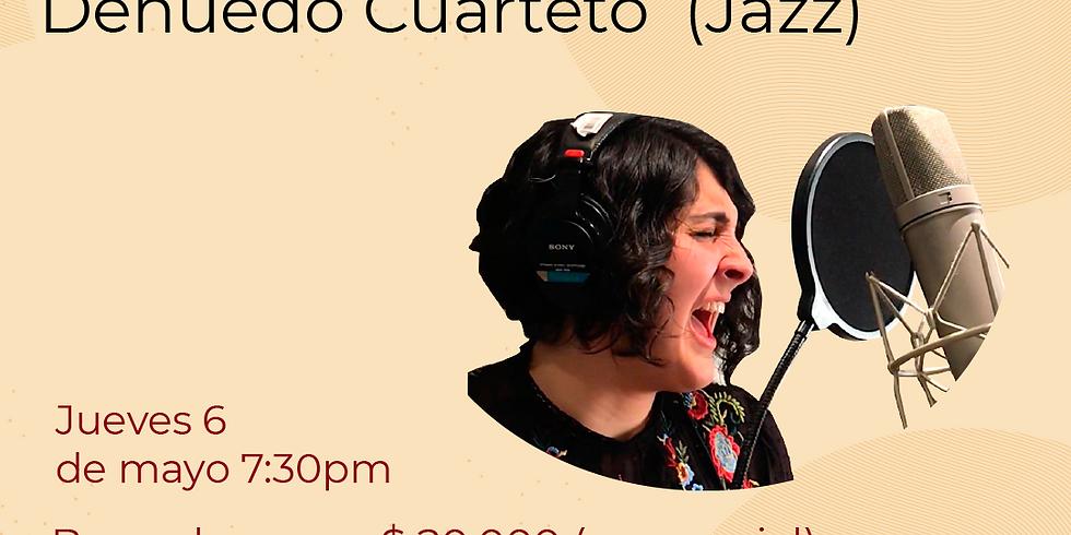 Presencial:  Denuedo Cuarteto  vivo en el Festival de Blues & Jazz Libélula Dorada 2021|