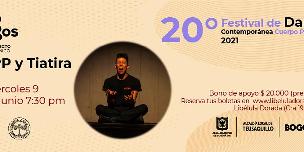 Presencial:  Logos Proyecto en vivo en el Festival de Danza contemporánea Libélula Dorada 2021|