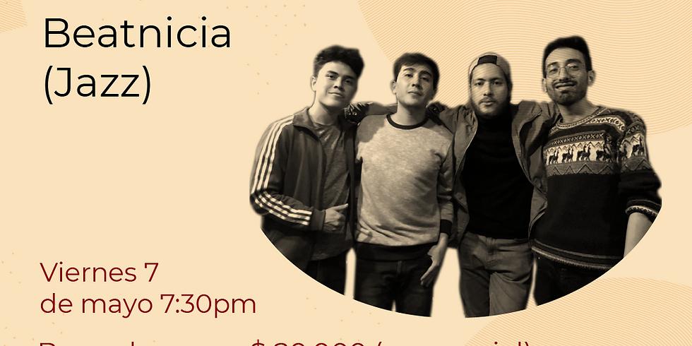 Presencial: Beatnicia  vivo en el Festival de Blues & Jazz Libélula Dorada 2021|