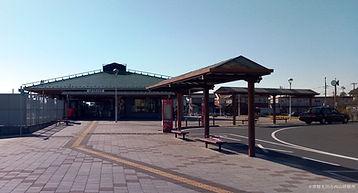 常陸太田駅前