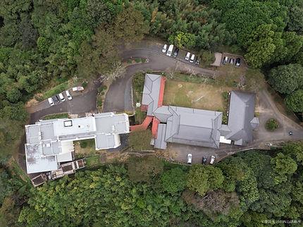 敷地上空から撮影