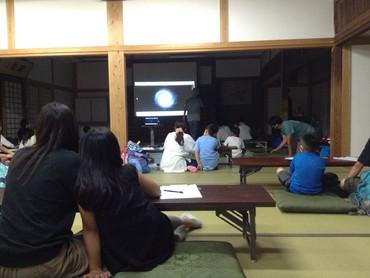 2021/7/13 「親子で天体観察」を開催しました【初の夏開催】