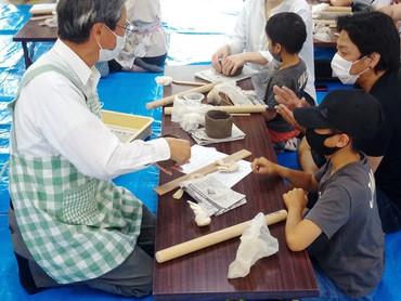 2021/5/9 「親子で陶芸体験2」開催しました!【🌸マグカップ🍀】