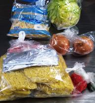 鉄板焼きA(肉・野菜+やきそば)
