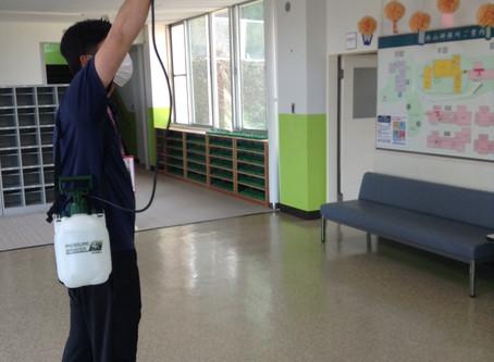 2020/6/19 新型コロナウイルス感染防止対策(受入れ態勢万全part4!!)