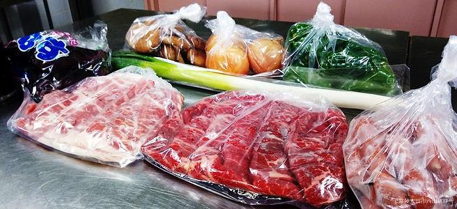 鉄板焼きA(肉・野菜)