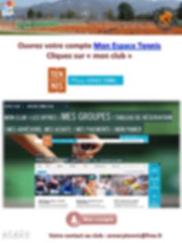 Support de communication - TC AnnecyPAGE