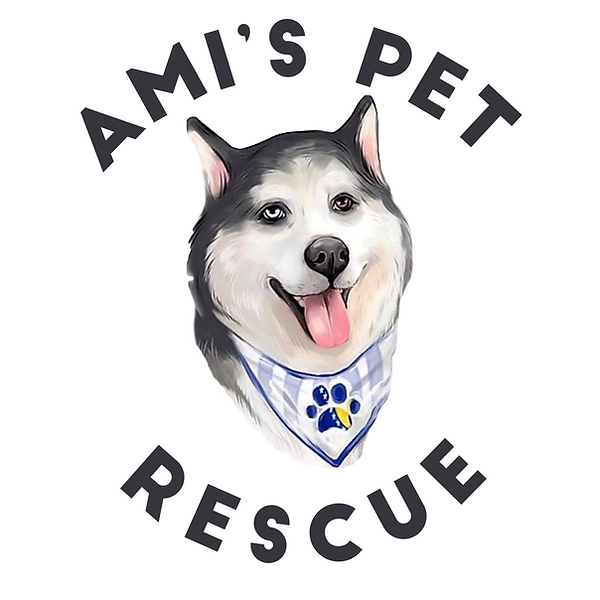 Ami's Pet rescue Logo (White) (1).png