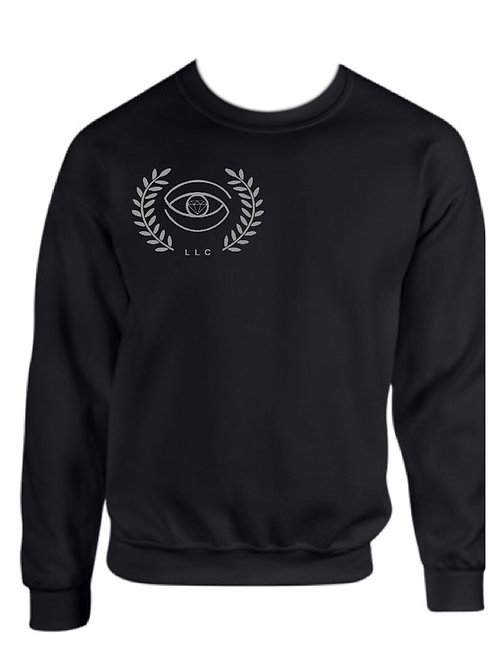 Shades of SwiftTattoos/ Reflector LLC  Grey Crew Neck Sweatshirts