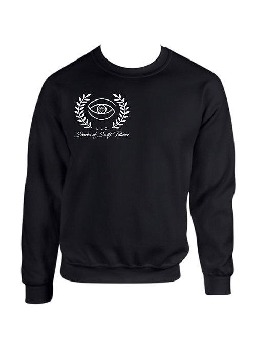 Shades of SwiftTattoos/ Black Crew Neck Sweatshirts