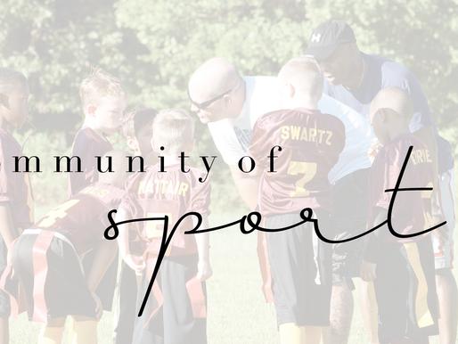 community of sport