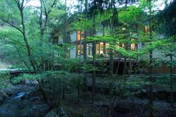 Exterior of Riverside Forest Inn