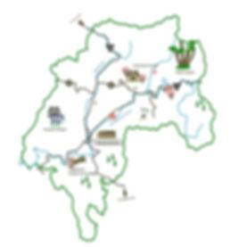 Tourist Map of Keihoku