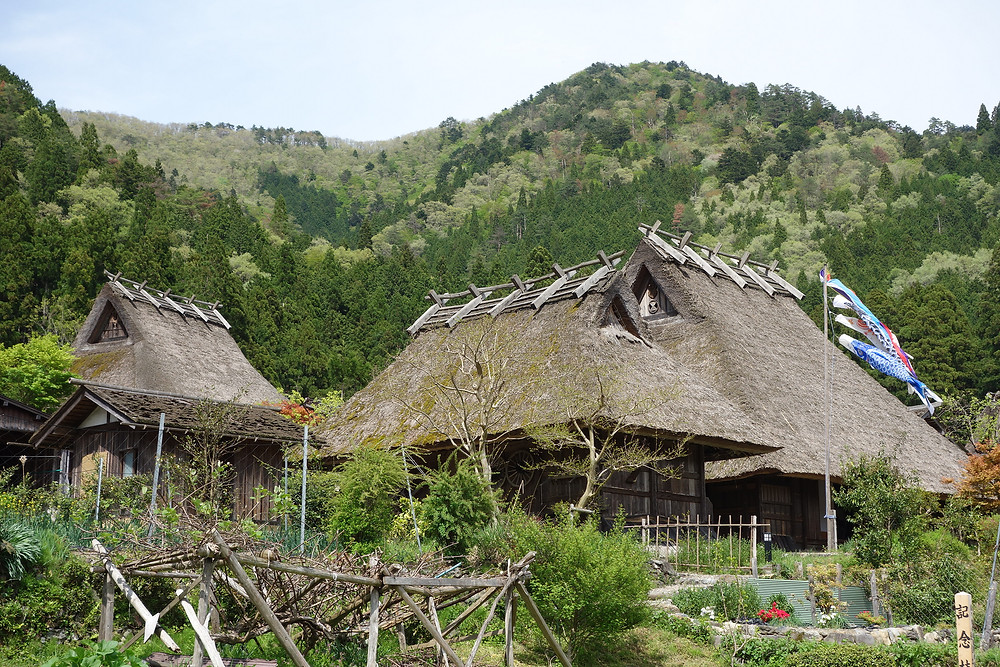 Miyama Thatched House Countryside Village