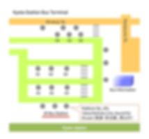 Kyoto JR Bus Terminal Map