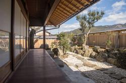 Engawa and Japanese garden