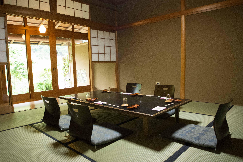 Family guestroom at ryokan