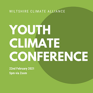 WCA Youth climate conference 22nd Feb in