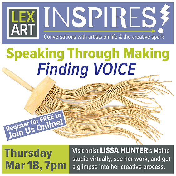 Speaking through Making:   Finding Voice
