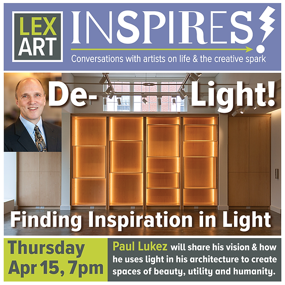 De-light!  Finding Inspiration in Light