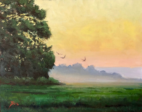 LH test - Oil Painting Landscapes & More with Peter Bain