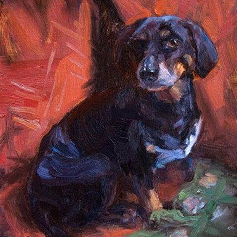 In-Person Dog Painting Workshop Aug 20-21
