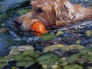 Atticus The Water Retriever Repainted.